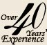 40 years of Experience